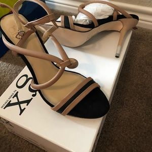 Brand new heels with straps